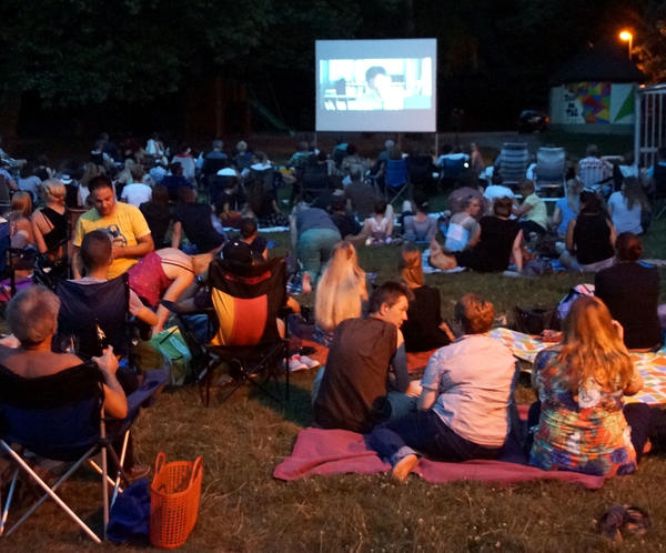 Open-Air-Kino im Tal Josaphat