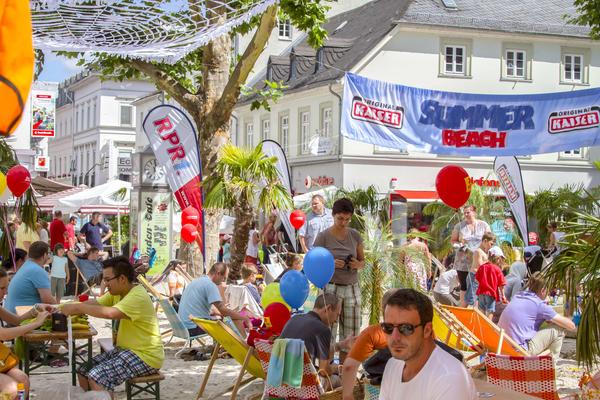 Sport, Strand, Spaß und Party: Summer Games kommen zum 15. Mal in die Limburger Innenstadt