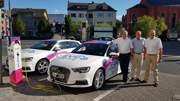 E-Carsharing in Limburg