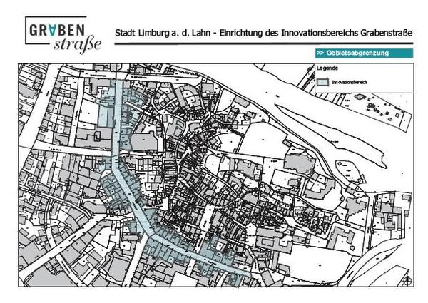 Öffentliche Bekanntmachung Innovationsbereich Grabenstraße